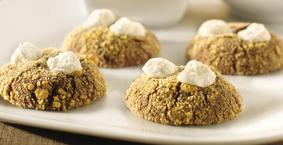 S'mores Brownie Cookies