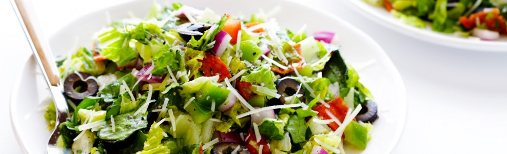 Italian salad in a bowl