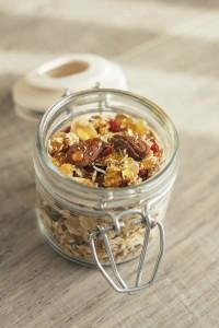 Mason jar overnight oats