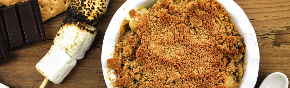 S'mores macaroni and cheese.