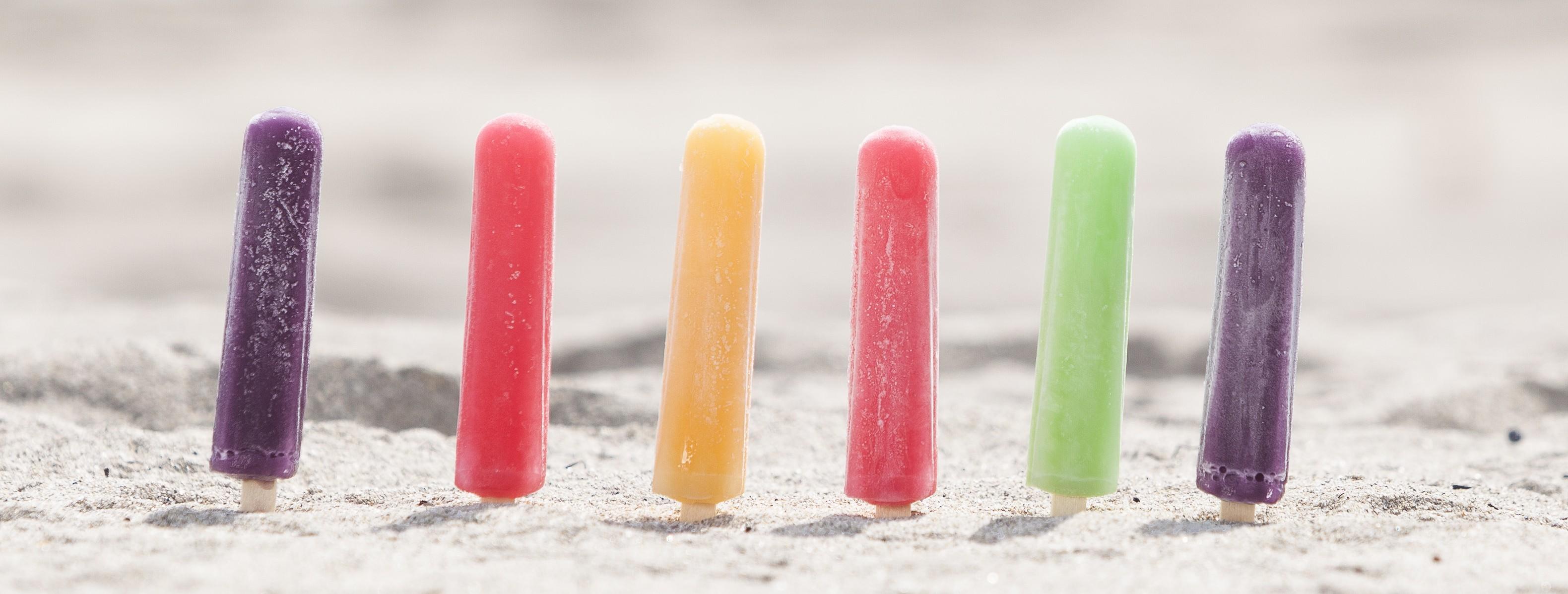 Multi-colored pops