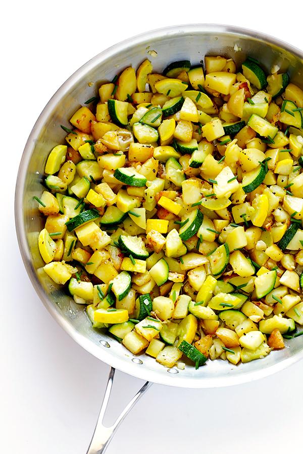 Zucchini Breakfast Hash 5