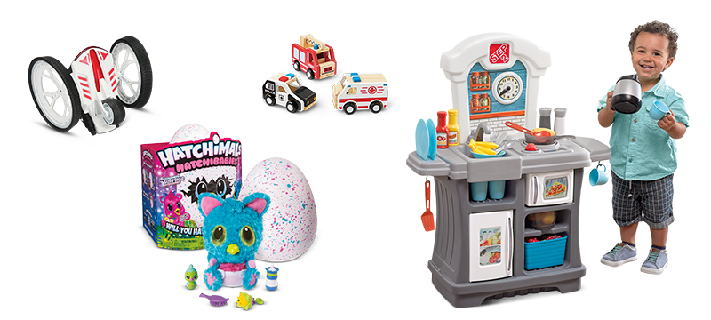Round up of kids toys